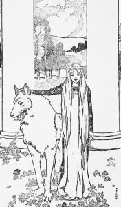 [Saint Bridget and the King's Wolf]