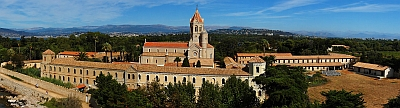 abbey and church of Lerins; swiped from Wikipedia