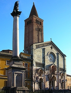 [cathedral of the diocese of Piacenza-Bobbio, Italy]