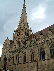 photograph of the Cathédrale of the Diocese of Autun, Bourgogne, FRANCE; taken by Christophe.Finot in the summer of 2005; swiped off Wikipedia