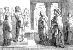 [Pictorial Lives of the Saints: The Purification, commonly called Candlemas-Day]