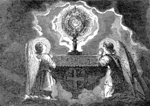 Pictorial Lives of the Saints: Quinquagesima Sunday