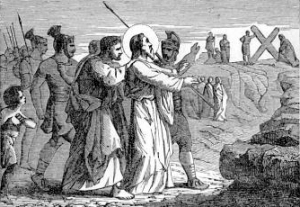[Pictorial Lives of the Saints: Saint Andrew, Apostle]