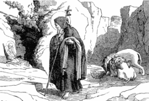 [Pictorial Lives of the Saints: Saint Antony, Patriarch of Monks]