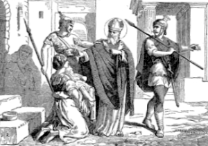 [Pictorial Lives of the Saints: Saint Blase, Bishop and Martyr]