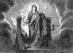 [Pictorial Lives of the Saints: Saint Catherine of Alexandria]