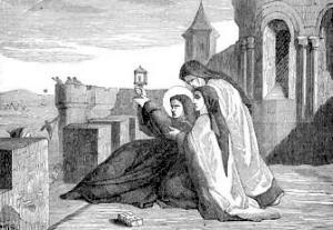 [Saint Clare, Abbess]