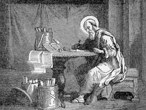 [Pictorial Lives of the Saints: Saint Clement of Rome]