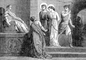 Saint Cyprian and Saint Justina, Martyrs