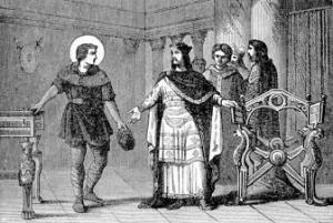 [Pictorial Lives of the Saints: Saint Eligius]