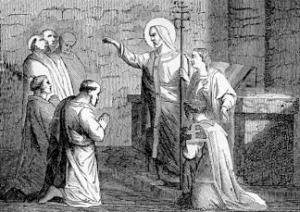 [Pictorial Lives of the Saints: Saint Evaristus, Pope and Martyr]