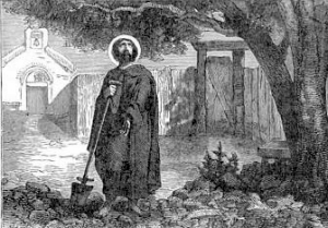 [Saint Fiaker, Anchorite]