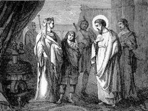[Pictorial Lives of the Saints: Saint Frumentius, Bishop]