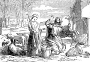 [Pictorial Lives of the Saints: Saint Genevieve, Virgin]