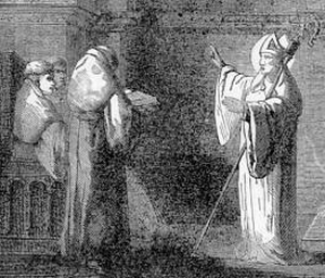 [Pictorial Lives of the Saints: Saint Odo of Cluny]