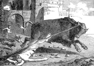 [Pictorial Lives of the Saints: Saint Saturninus, Martyr]