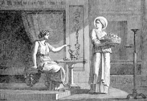 [Saint Seraphia, Virgin and Martyr]