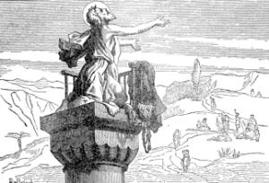 [Pictorial Lives of the Saints: Saint Simeon Stylites]