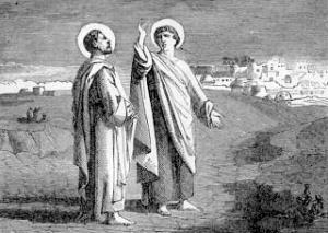 [Pictorial Lives of the Saints: Saint Simon and Saint Jude]