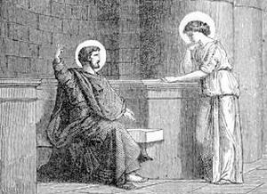 [Saint Thecla, Virgin, Martyr]