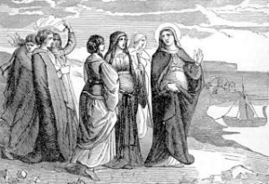 [Pictorial Lives of the Saints: Saint Ursula, Virgin and Martyr]
