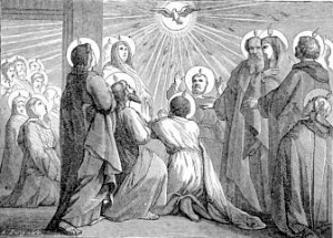 [Pictorial Lives of the Saints: Whit Sunday]