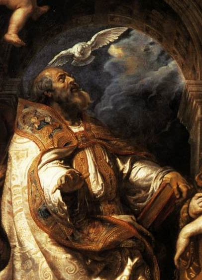 detail of 'The Ecstasy of Saint Gregory the Great', Pieter Pauwel Rubens, 1608, oil on canvas, Musée des Beaux-Arts, Grenoble, France