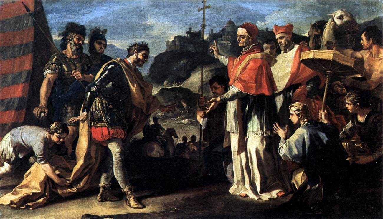 Saints.SQPN.com » Blog Archive » Pope Saint Leo the Great Gallery