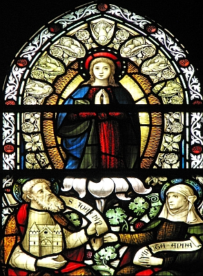 [Mary, Joachim and Anne]