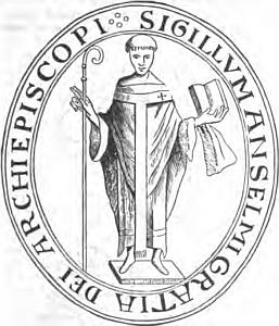 [Saint Anselm of Canterbury]