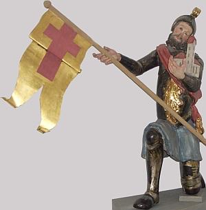 statue of Saint Arnold of Hiltensweiler, date unknown, artist unknown;