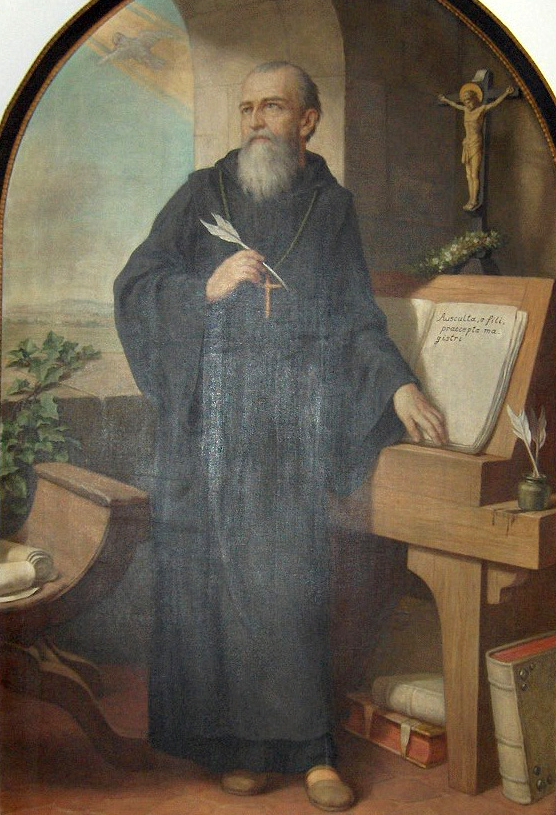 [Saint Benedict of Nursia]