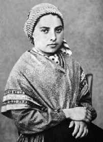 [Saint Bernadette of Lourdes]