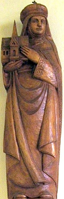 statue of Saint Hedwig, Saint Maria Parish Church, Sehnde; swiped off Wikipedia