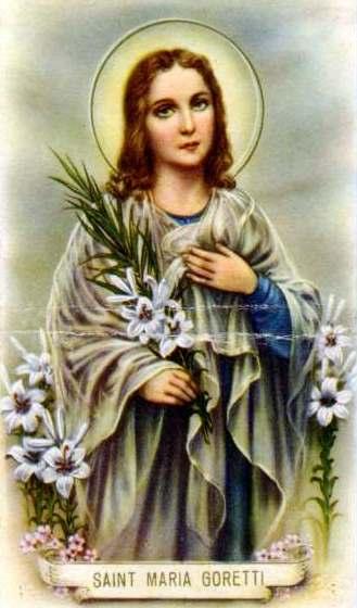 29kb jpg holy card, artist unknown