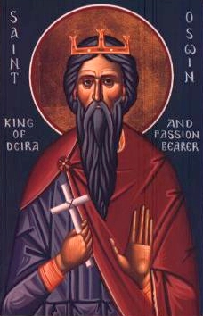 icon of Saint Oswine of Deira, date and artist unknown