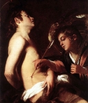 Saint Sebastian Healed by an Angel
