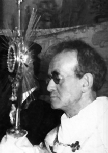 Blessed Giustino Maria Russolillo; photographed by Gianni Palmers, date unknown; swiped off the DonGiustino.com web site