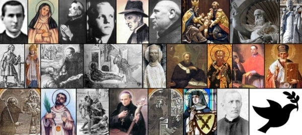 some of the saints and beati commemorated on 1 January