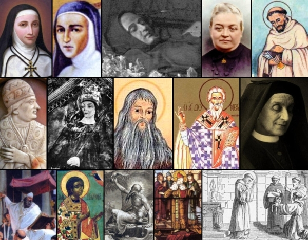 some of the saints and beati celebrated on 10 January