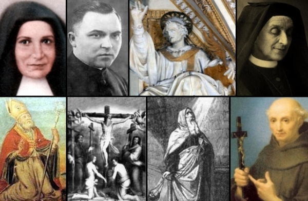 some of the saints and beati celebrated on 11 January