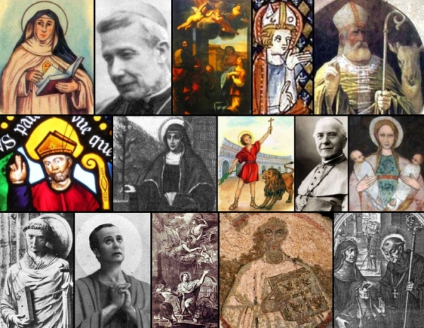 some of the saints and beati celebrated on 19 January