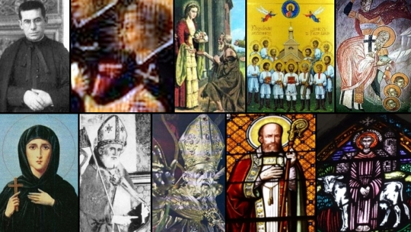 some of the saints and beati celebrated on 24 January