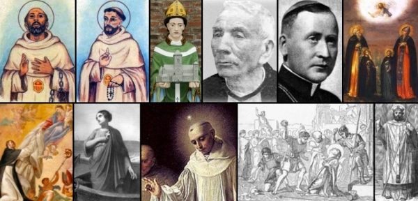 some of the saints and beati celebrated on 26 January
