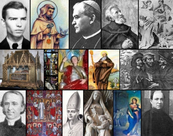 some of the saints and beati celebrated on 27 January
