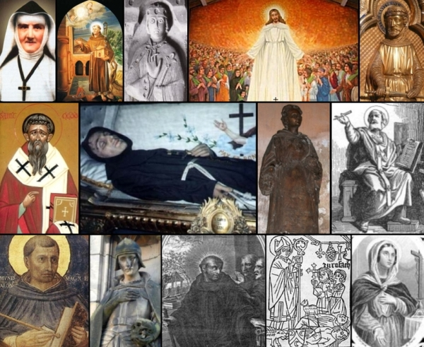 some of the saints and beati celebrated on 7 January