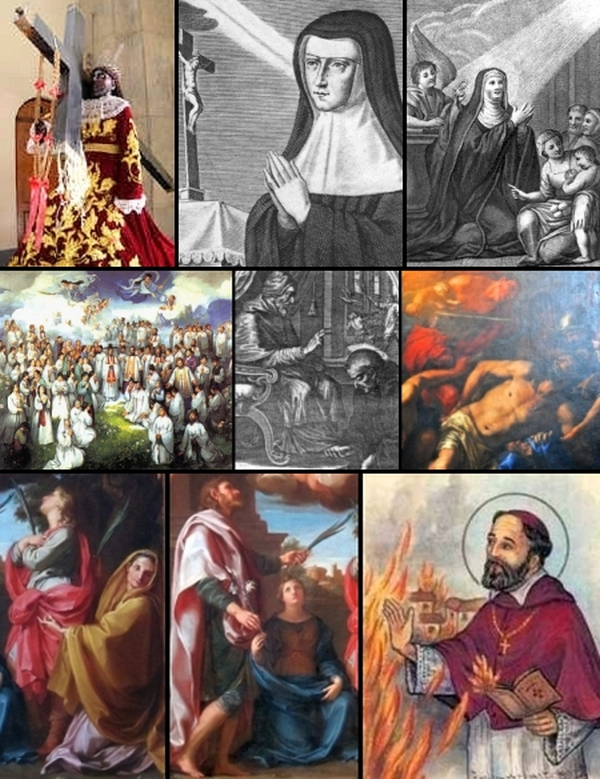 some of the saints and beati celebrated on 9 January