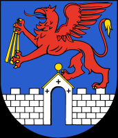 coat of arms for Anklam, Germany