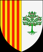 coat of arms for Arbos, Spain