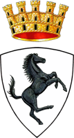 coat of arms of Arezzo, Italy